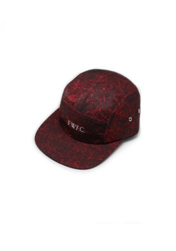 'GRASS' CAMP CAP (RED)