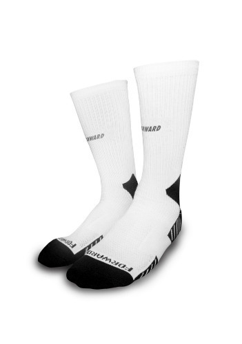 FORWARD V-LINED NONSLIP HALF SOCKS