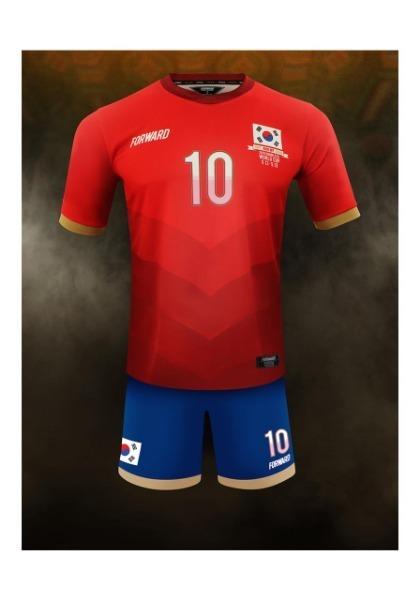 KOREA 'HOPE, KICK OFF AGAIN' – 2015 HOMELESS WC PACK(RED)