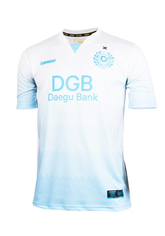 DAEGU FC AWAY KIT FOR ACL (PREMIUM - 전사형) / 마킹 후부착