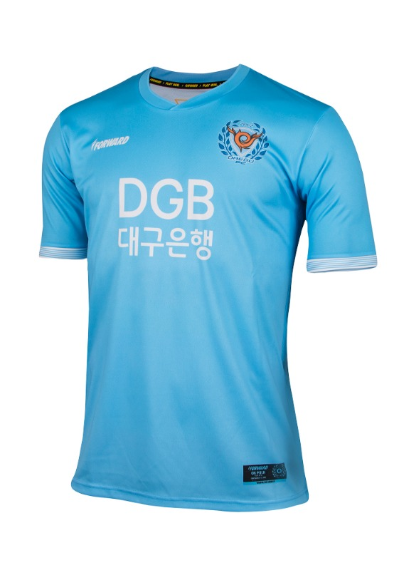 DAEGU FC HOME KIT FOR K-LEAGUE (PREMIUM - 전사형)/ 마킹 후부착
