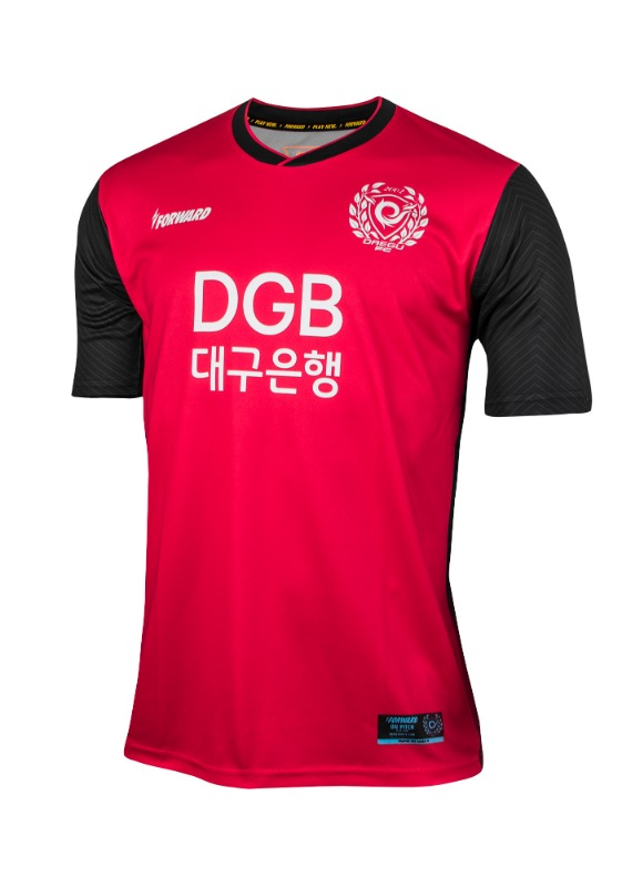 DAEGU FC GK HOME KIT FOR K-LEAGUE (PREMIUM - 전사형)/ 마킹 후부착