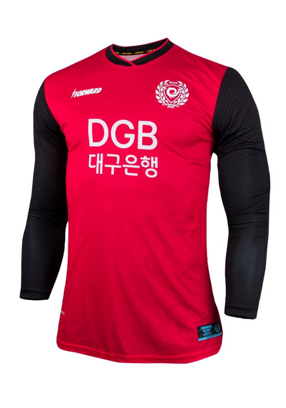 DAEGU FC L/S GK HOME KIT FOR K-LEAGUE 'FORCOOL' (AUTHENTIC)