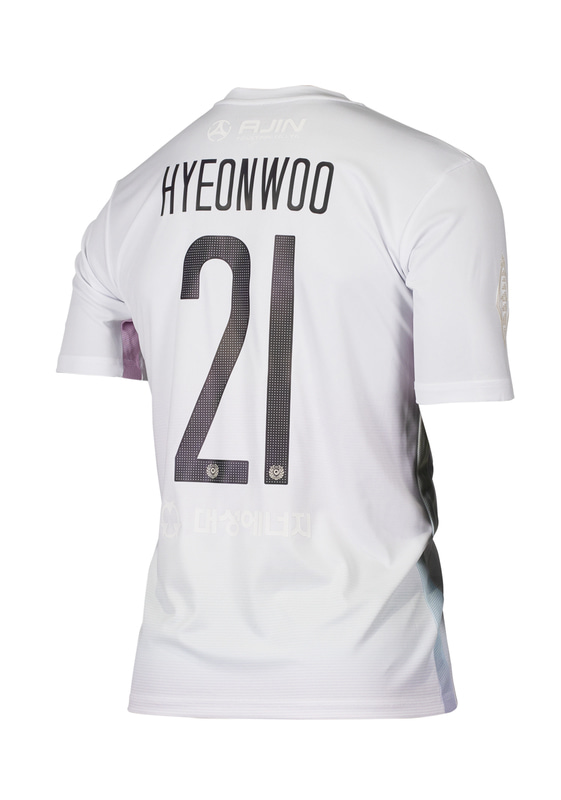 DAEGU FC 'PRISM PACK' MATCH JERSEY WHITE ver. (PREMIUM / FULL PATCHED)