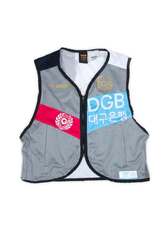 FORWARD X NSS SPORTS REMADE UTILITY VEST (GRAY/RED/BLUE)