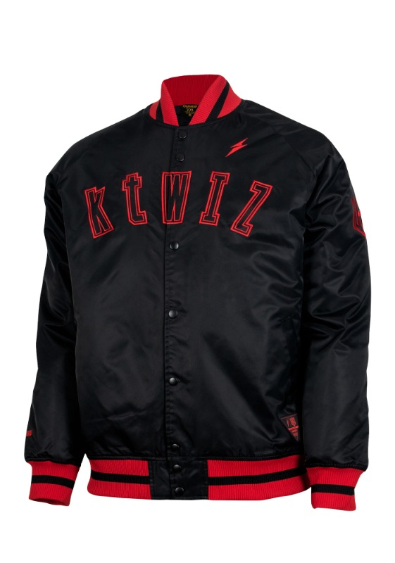FORWARD kt wiz DUGOUT JACKET (BLACK/RED)
