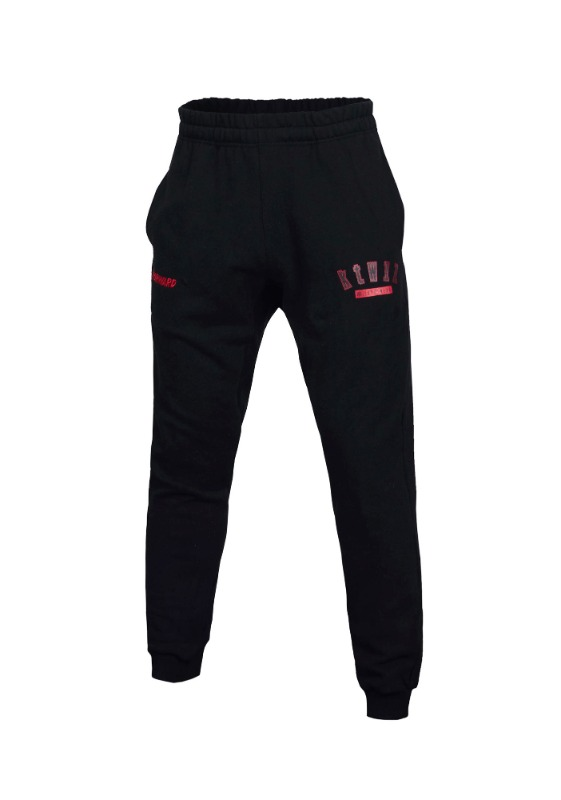 FORWARD kt wiz ARCH LOGO JOGGER PANTS (BLACK/RED)