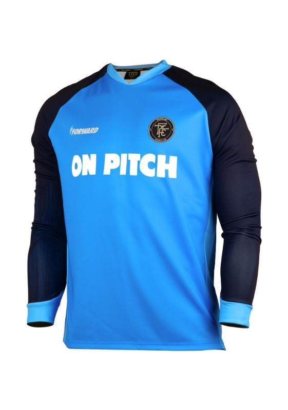 LIGHTENING TRAINING TOP (NAVY/SKYBLUE)