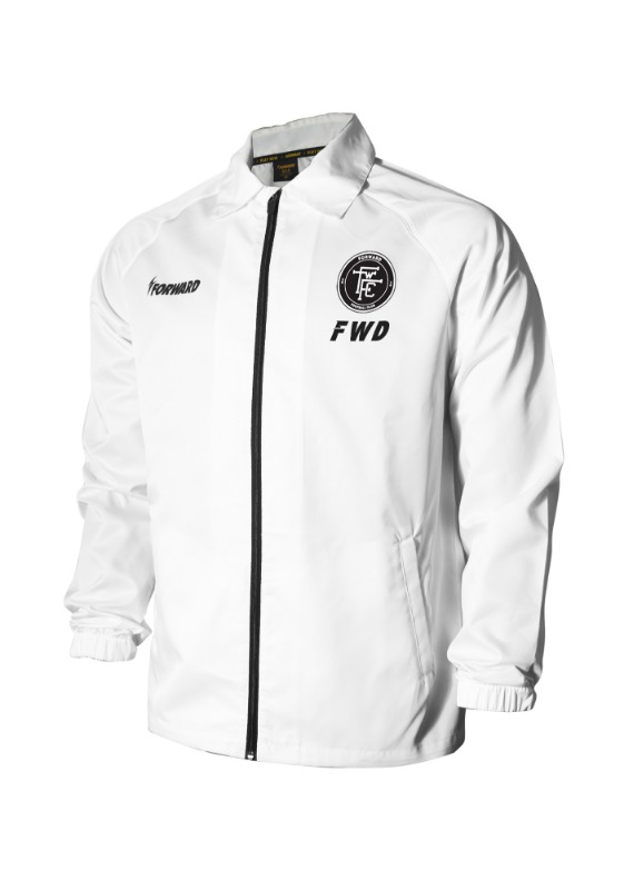 LIGHTENING COACH JACKET (WHITE)