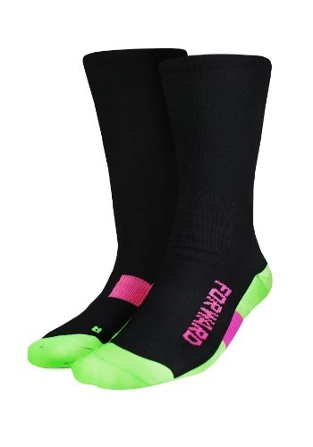 VOLT HALF SOCKS (BLACK)