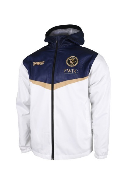 FIGHTER HOODY JACKET W SHIELD (HARD WHITE)