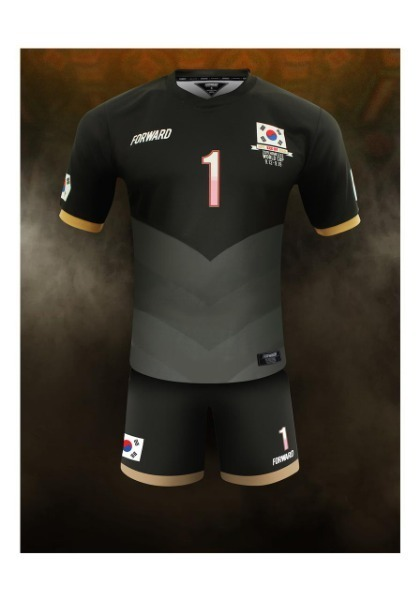 KOREA 'HOPE, KICK OFF AGAIN' – 2015 HOMELESS WC PACK(BLACK)